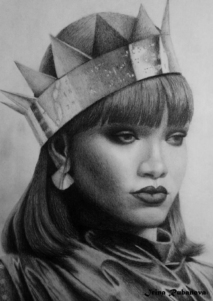 Rihanna by IrinaRubanova